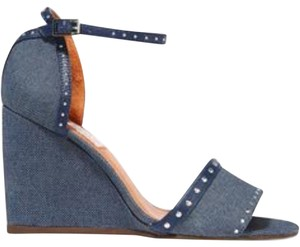 Lanvin Denim dark blue Wedges