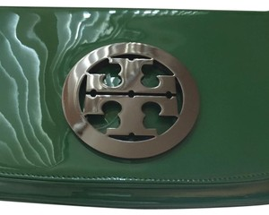 Tory Burch Green Clutch