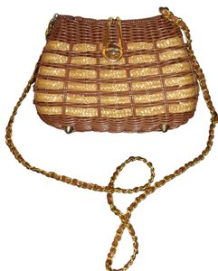 Other Wicker Like New Cross Body Bag