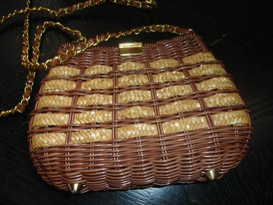Other Wicker Like New Cross Body Bag Image 4