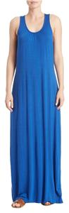 Blue Maxi Dress by Lord & Taylor Maxi And Ryaon Summer