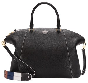 Tory Burch Medium Satchel in Black