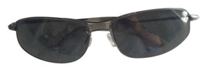 Oliver Peoples Oliver Peoples sunglasses in gun metal.