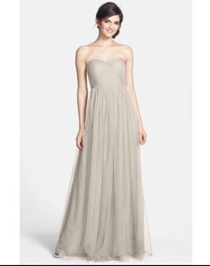 Jenny Yoo Mist Gray Annabelle Dress