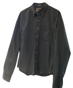 Abercrombie & Fitch Button Down Shirt Navy blue