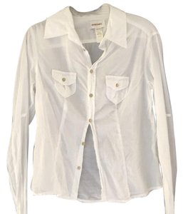 Diesel Button Down Shirt White