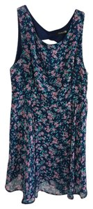 Forever 21 short dress Pink Floral Print on Tradesy