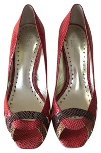 BCBG Paris Red Pumps