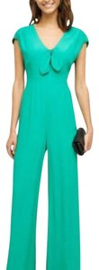 Anthropologie Wide Leg Pants Emerald green