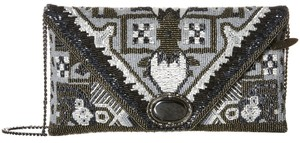 Mary Frances Magic Carpet Beaded Evening Multicolor Clutch