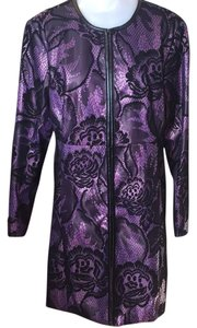 Pamela McCoy Purple / black Jacket