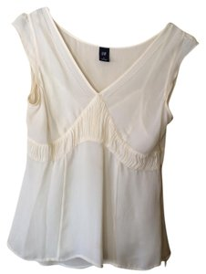 Gap Sheer Top ivory