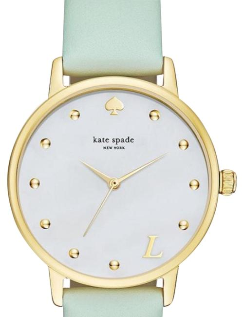 Item - Mint Green and Gold Tone Style Ksw1100l Watch