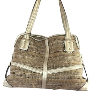 B. Makowsky Tote in Gold