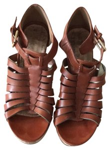 MIA Chestnut brown Platforms