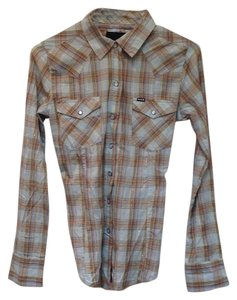 Hurley Top Plaid