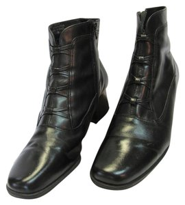 Croft & Barrow Leather Size 9.00 M Black Boots