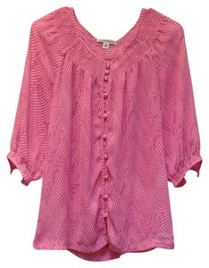 Banana Republic Button Down Shirt Pink