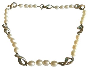 Tiffany & Co. 8 Figure Infinity Freshwater Pearl Necklace