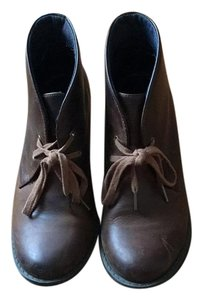 Clarks Bootie Leather brown Boots