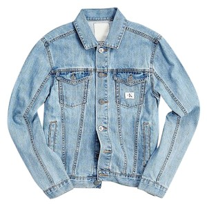 Calvin Klein Denim Unisex blue Womens Jean Jacket