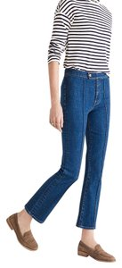 rivet & thread Indigo Vintage Cropped Denim Madewell Bootcut Capri/Cropped Denim-Light Wash