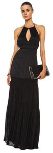 Black Maxi Dress by Diane von Furstenberg Maxi Halter