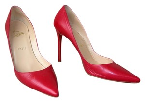 Christian Louboutin Red Kid Pumps