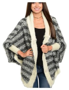 Other Soft Oversized Cocoon Poncho Shrug Cardigan