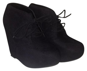 Charlotte Russe Black Wedges