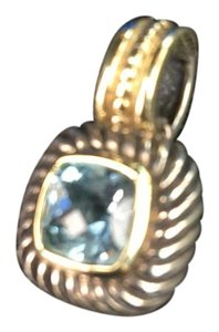 David Yurman David Yurman Blue Topaz Albion Cushion Charm