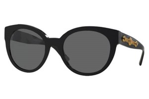 Versace NEW Versace Sunglasses, black with gold logo