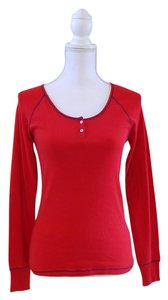 Tommy Hilfiger Nwt Soft Layer T Shirt Red