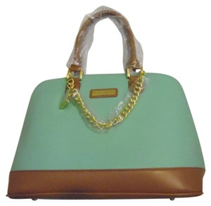 Joy & IMAN Satchel in Mint Green