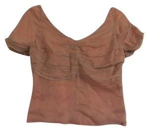 Dries van Noten Top Pink
