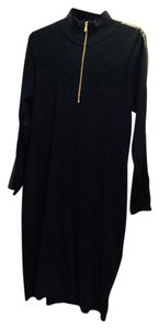 Ralph Lauren short dress BLACK Collection Wool Brass Zipper on Tradesy
