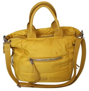 CO-LAB BY CHRISTOPHER KON Large Satchel in Yellow