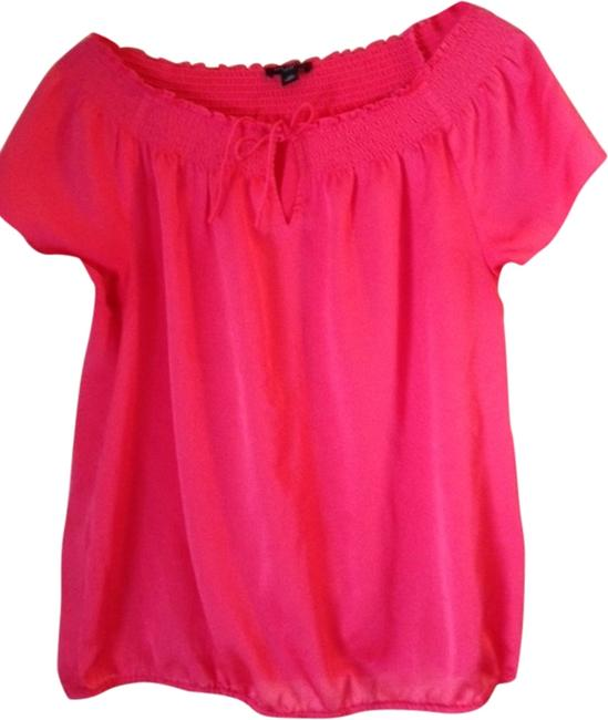 Preload https://item5.tradesy.com/images/ann-taylor-top-coral-1995224-0-0.jpg?width=400&height=650