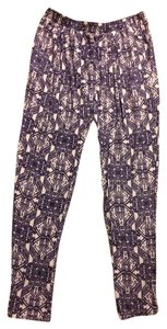 Anthropologie Fraiche By J Anthro Jogger Printed Soft Pants