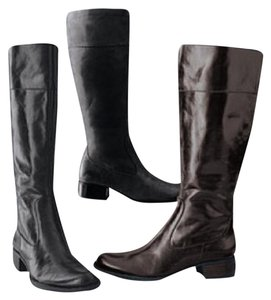Brn Dark Brown Boots