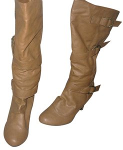 Thigh High Belted Fall tan Boots