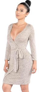 Other short dress Taupe on Tradesy