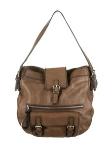 Chloé Extra Large Saddlebag Equestrian Buckle Hardware Hobo Bag