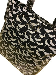 Kate Spade Sandpiper Bon Bird Tote in Blue & white