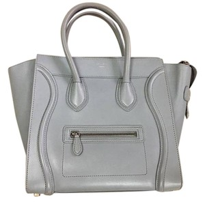 Céline Celine Mini Satchel in Mint