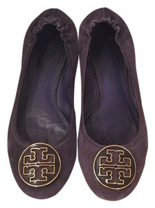 Tory Burch Navy Blue / Purple Flats