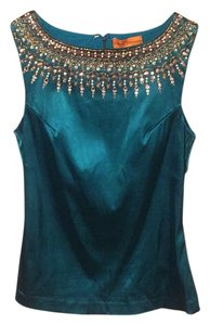 Roberta Roller Rabbit Top Teal