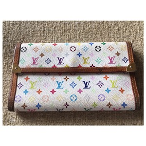 Louis Vuitton LOUIS VUITTON ~RARE~ MONOGRAM MURAKAMI PORT TRESSOR WALLET