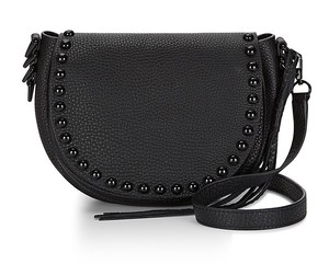 Rebecca Minkoff Leather Studded Hardware New With Cross Body Bag