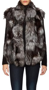 Vince Geniune Fox Fur Brand New Vest